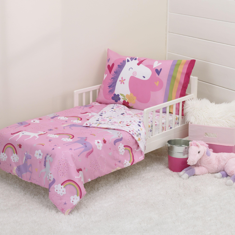 disney princess adventure rules toddler 4 piece bedding set