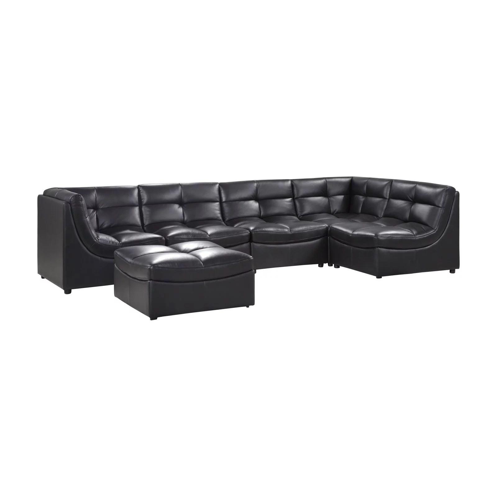 6 piece modular sectional sofa lazy boy reese best master furniture cloud walmart com