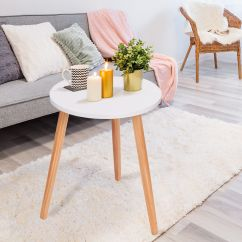 Modern Table For Living Room Split Level Ranch Decorating Ideas Round Coffee Tea Side Sofa Furniture Home Decor