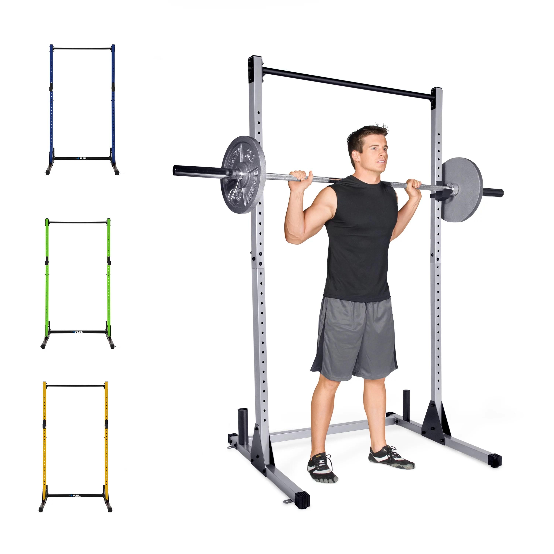 cap strength power rack gray