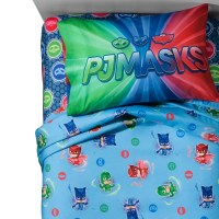 PJ Mask Twin 3 Piece Sheet Set Bedding - Walmart.com