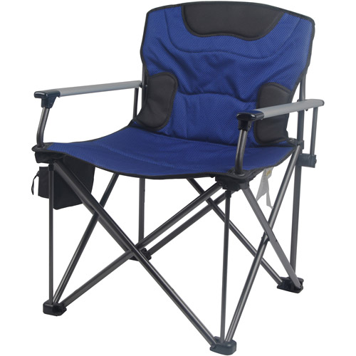 Ozark Trail XXL Sized Solid Armrest Outdoor Chair