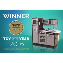 Kidkraft Toy Kitchen Cheap Cabinet Doors Uptown White Wooden Play Walmart Com