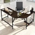 Kingso L Shaped Desk Computer Desk 59 Corner Desks Modern Writing Study Workstation Table Home Office Gaming Desk Executive Pc Laptop For Study Bedroom Living Room Walmart Com Walmart Com