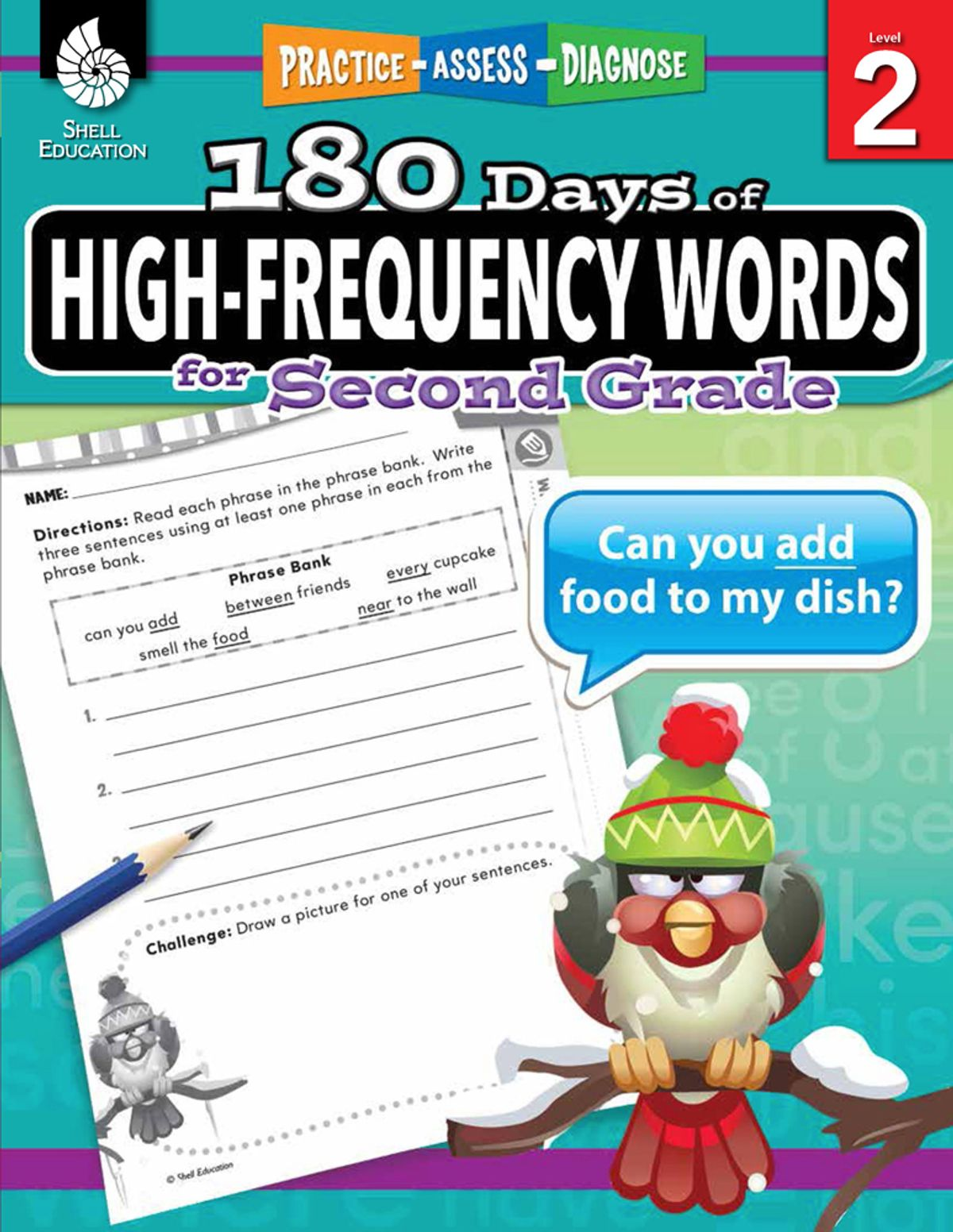 180 Days Of High Frequency Words For Second Grade