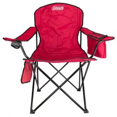 Folding Quad Chair Kids Desk And Set Coleman With Built In Cooler Cup Holder Red 2000020264 Walmart Com