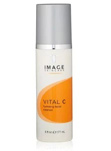 ( Value) Image Skin Care Vital C Hydrating Facial Cleanser, Face Wash for All Skin Types, 6 Oz