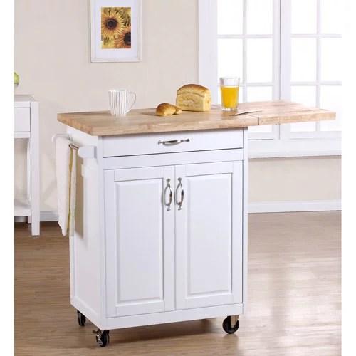 Mainstays Kitchen Island Cart, Multiple Finishes