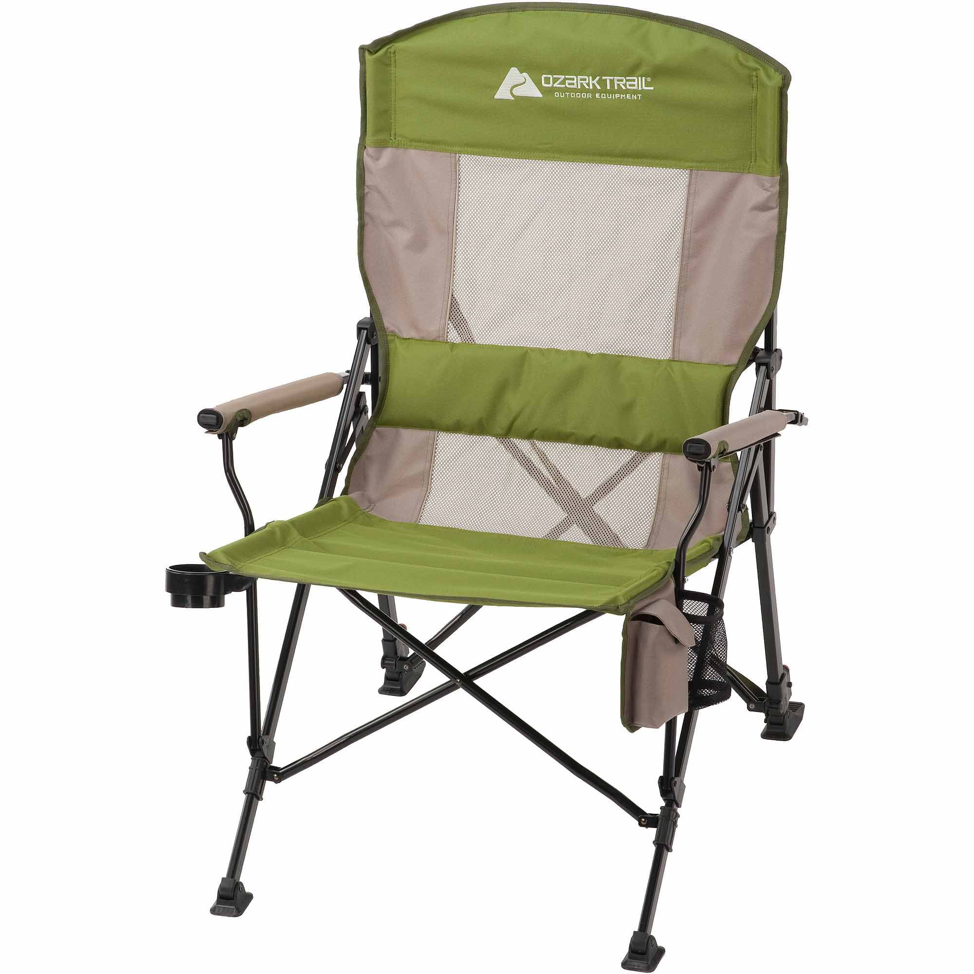 walmart chairs camping folding chair comfortable ozark trail 3 piece portable table and set com