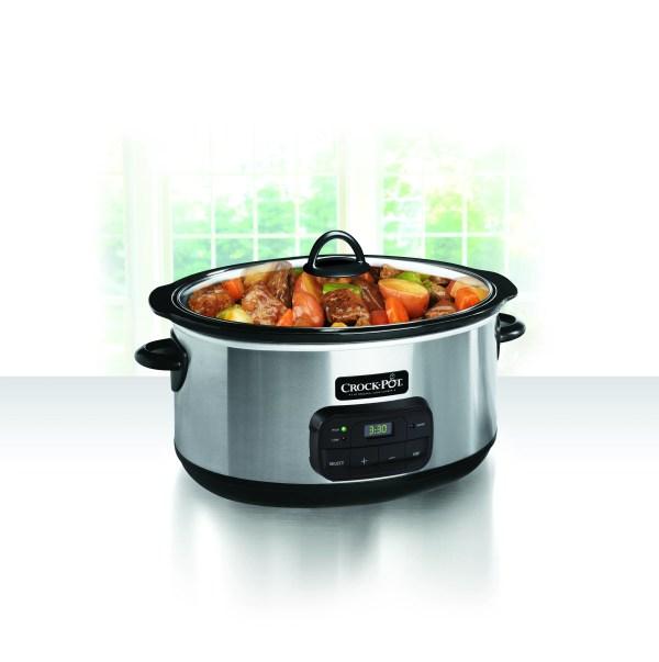 Crock-pot 8-quart Programmable Slow Cooker Sccpvz800