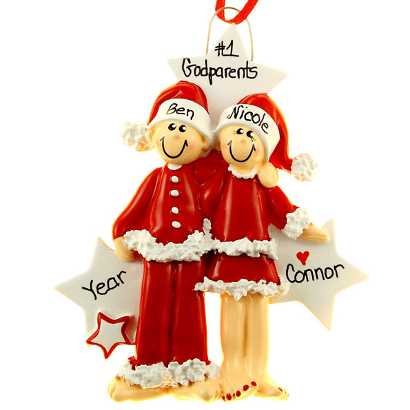 P.J. Lovers Personalized Christmas Ornament DO-IT-YOURSELF