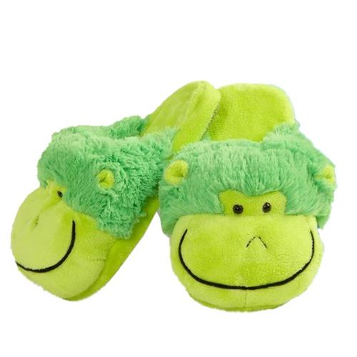my pillow pets neon monkey slippers