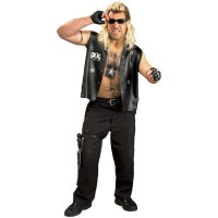 Dog the Bounty Hunter Adult Halloween Costume - Walmart.com