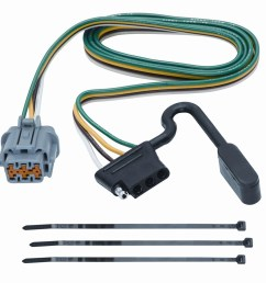 tekonsha 118263 4 flat tow harness wiring package xterra perfect wiring harness vehicle suzuki [ 1500 x 1425 Pixel ]