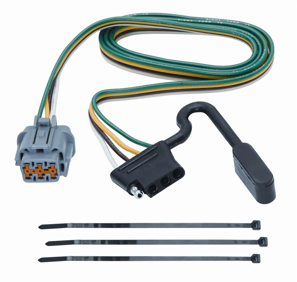 medium resolution of tekonsha 118263 4 flat tow harness wiring package xterra perfect wiring harness vehicle suzuki