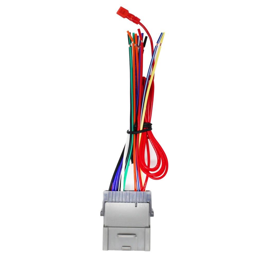 medium resolution of replacement radio wiring harness for 2004 hyundai santa fe 2003 hyundai santa fe 2003 pontiac vibe 2004 pontiac vibe 2004 chevrolet tracker