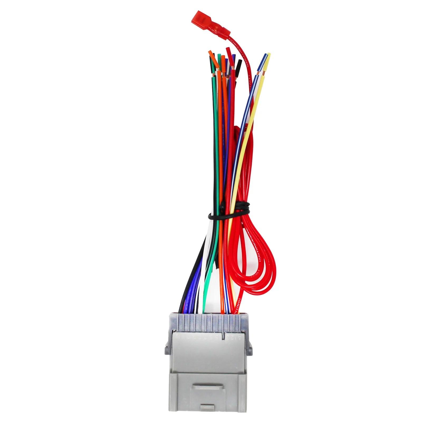 hight resolution of replacement radio wiring harness for 2004 hyundai santa fe 2003 hyundai santa fe 2003 pontiac vibe 2004 pontiac vibe 2004 chevrolet tracker