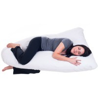 Remedy Full Body Contour U Pregnancy Pillow - Walmart.com