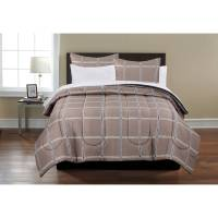 Mainstays Plaid Bed in a Bag Complete Bedding Set | size ...