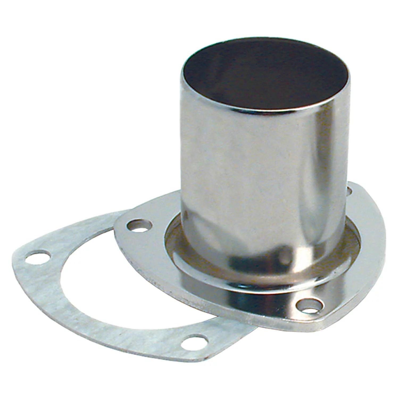 spectre industries 4641 exhaust header reducer 3 bolt flange 3 inch collector diameter 2 1 2 inch exhaust pipe diameter compressed ceramic fiber