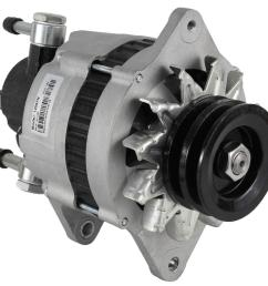 new alternator fits isuzu npr 3 9 turbo diesel w vac pump 2912760000 8970237331 walmart com [ 1107 x 1023 Pixel ]