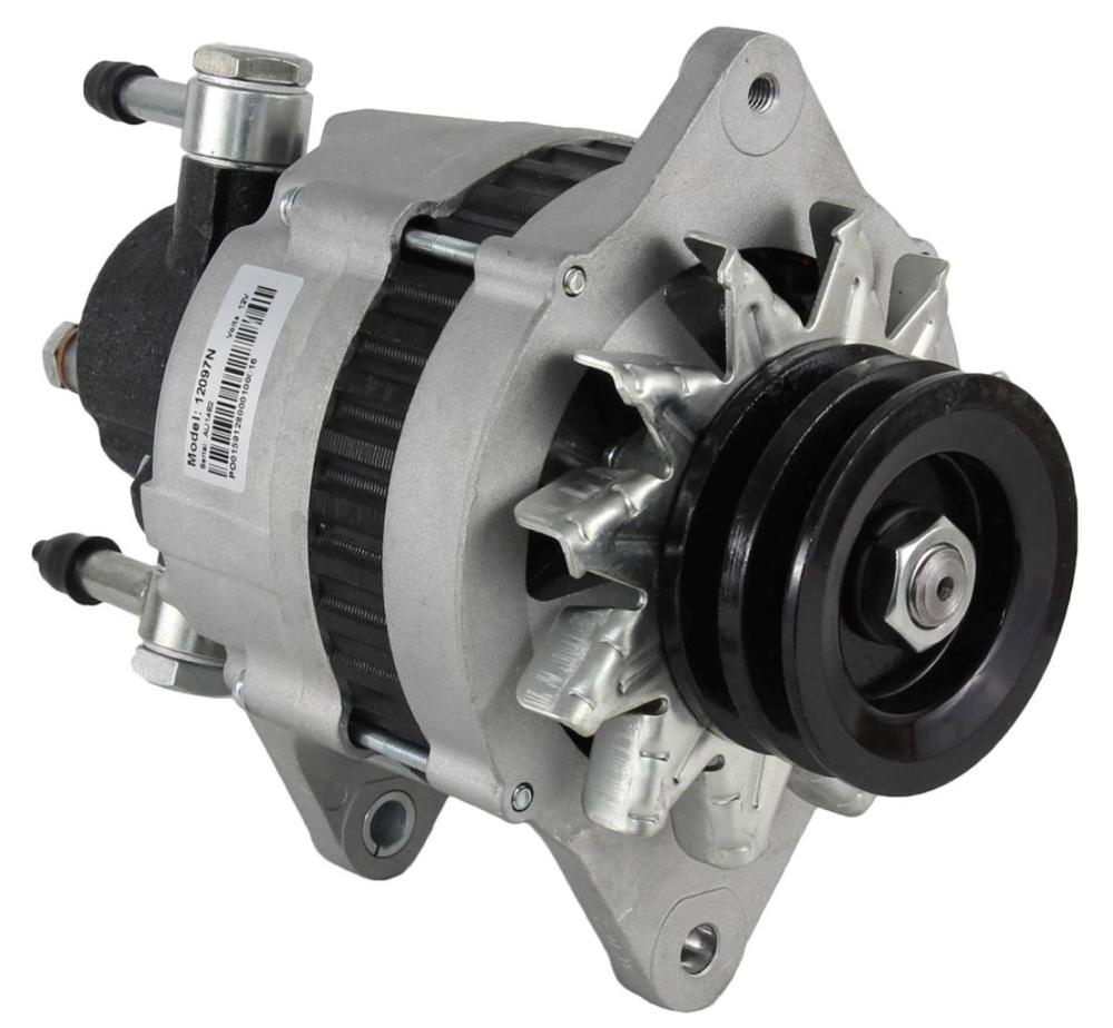 medium resolution of new alternator fits isuzu npr 3 9 turbo diesel w vac pump 2912760000 8970237331 walmart com