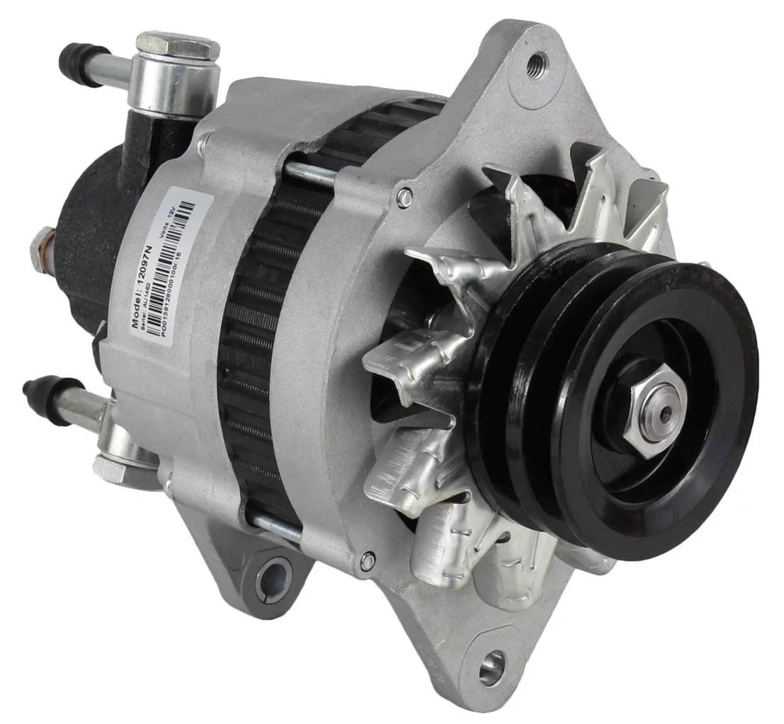 hight resolution of new alternator fits isuzu npr 3 9 turbo diesel w vac pump 2912760000 8970237331 walmart com