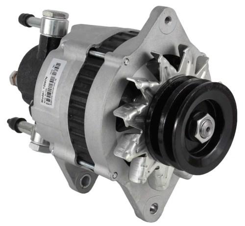 small resolution of new alternator fits isuzu npr 3 9 turbo diesel w vac pump 2912760000 8970237331 walmart com