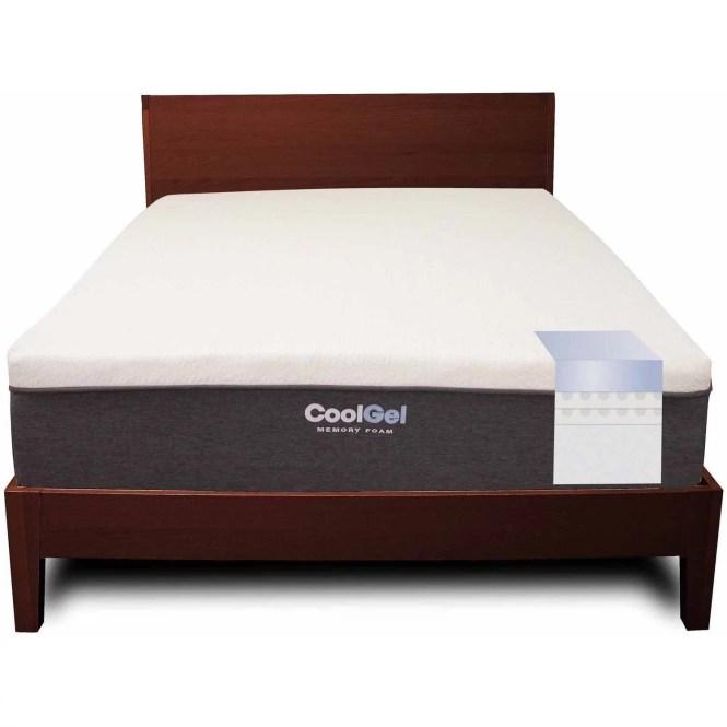 Modern Sleep Cool Gel Memory Foam 12 Inch Mattress Multiple Sizes