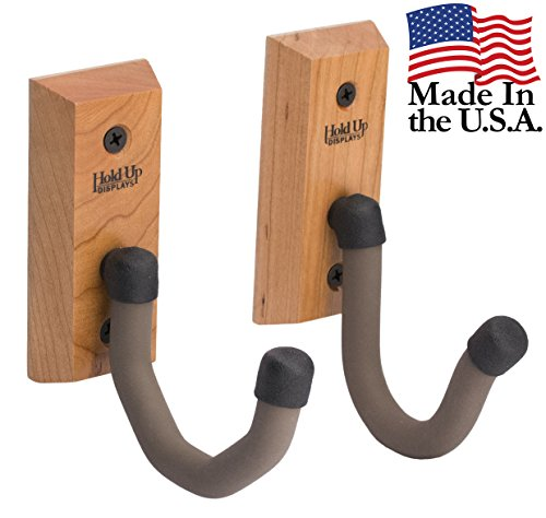 hold up displays horizontal gun rack and shotgun hooks store any rifle shotgun and bow real hardwood harvested in wisconsin made in usa