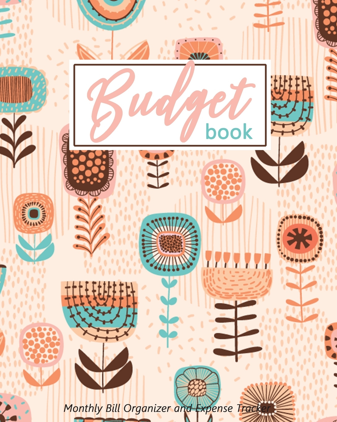 Budget Book Monthly Bill Organizer And Expense Tracker