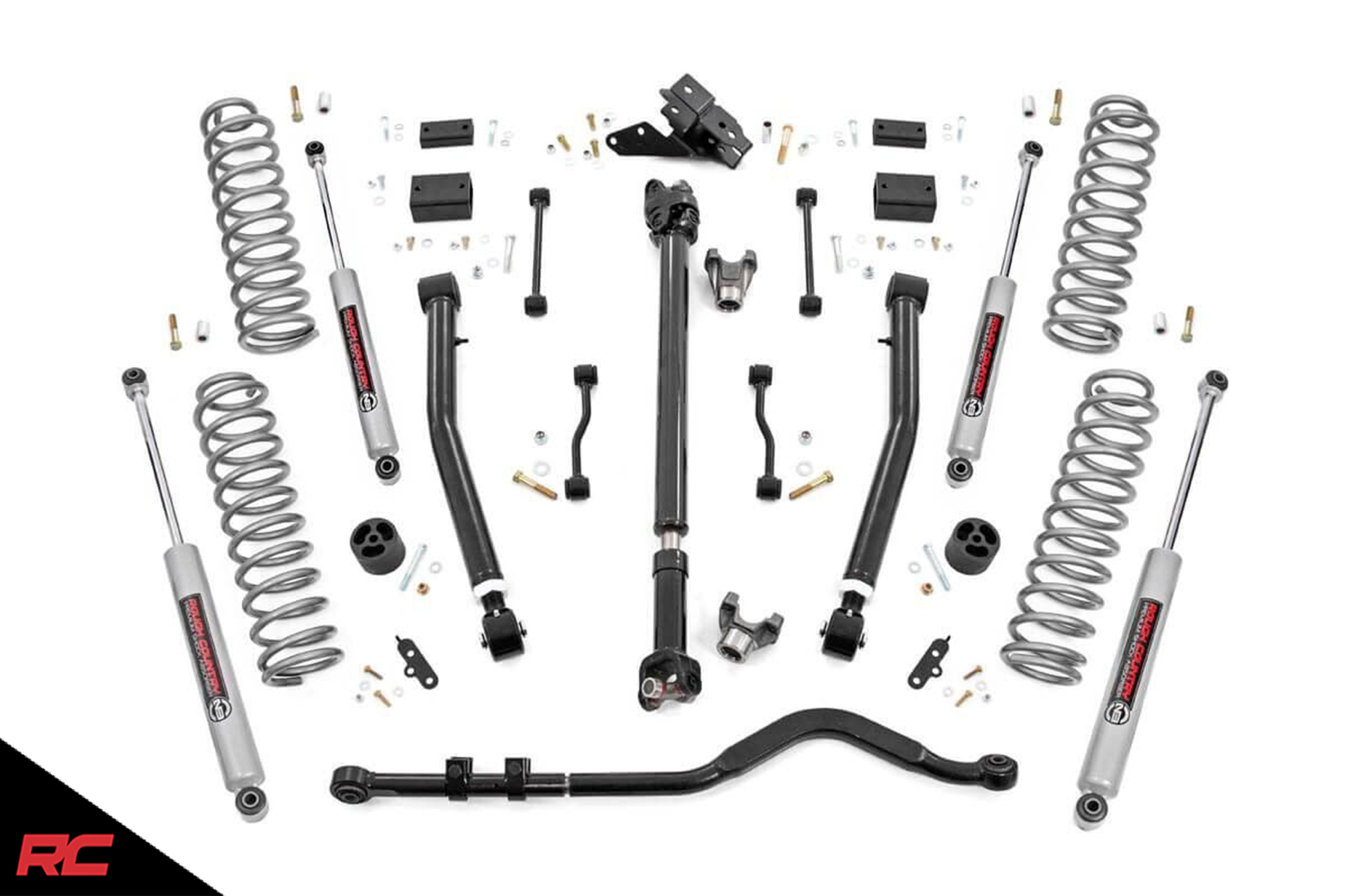 Rough Country 3 5 Lift Kit Compatible W Jeep