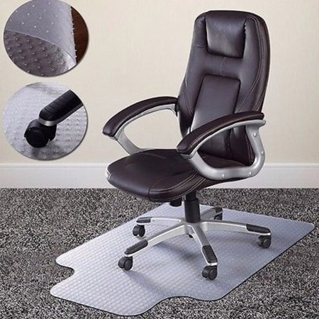 desk chair for carpet unusual shaped home office mat floor protection under executive computer