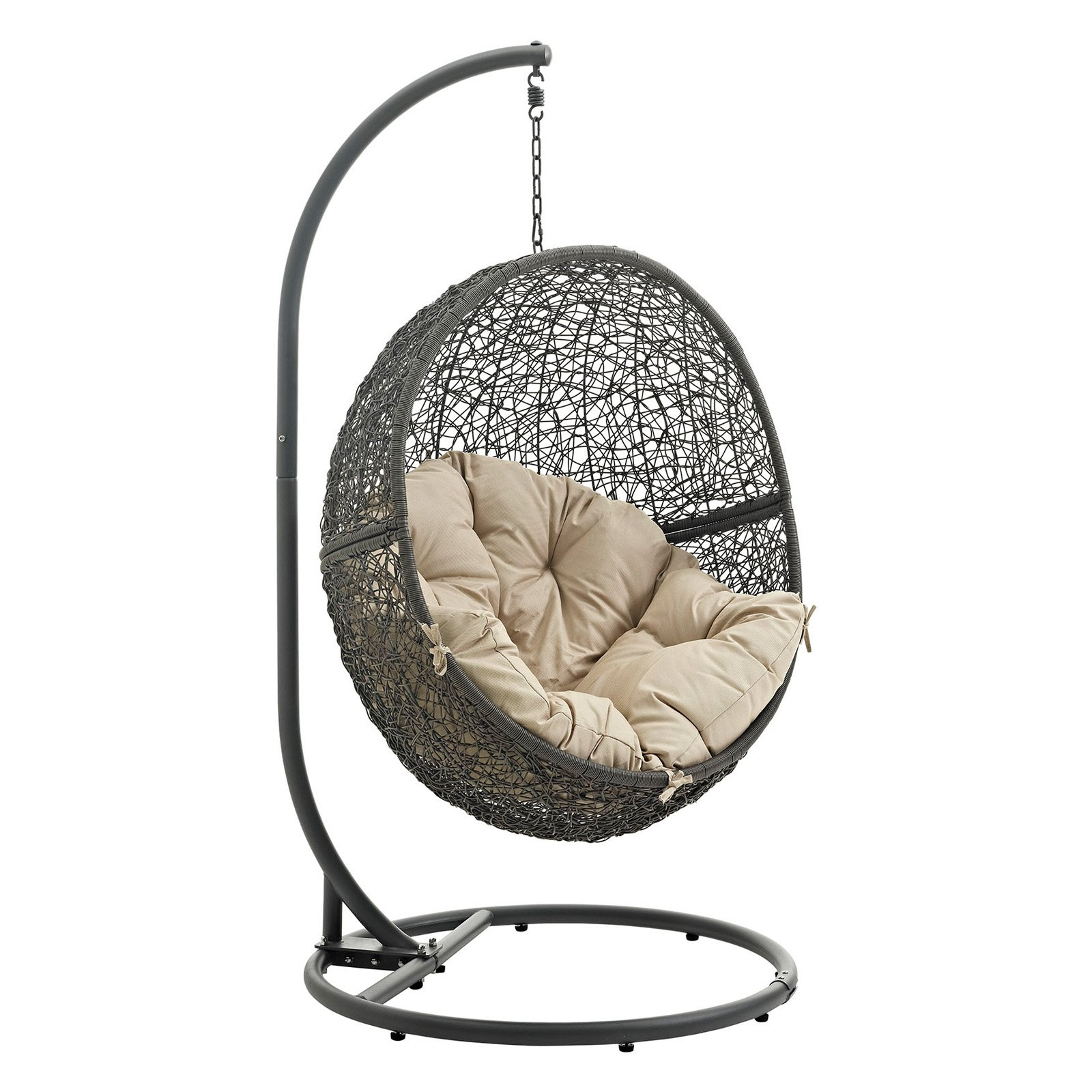 teardrop swing chair desk leans back too far outdoor hanging chairs walmart com product image modway hide patio multiple colors available