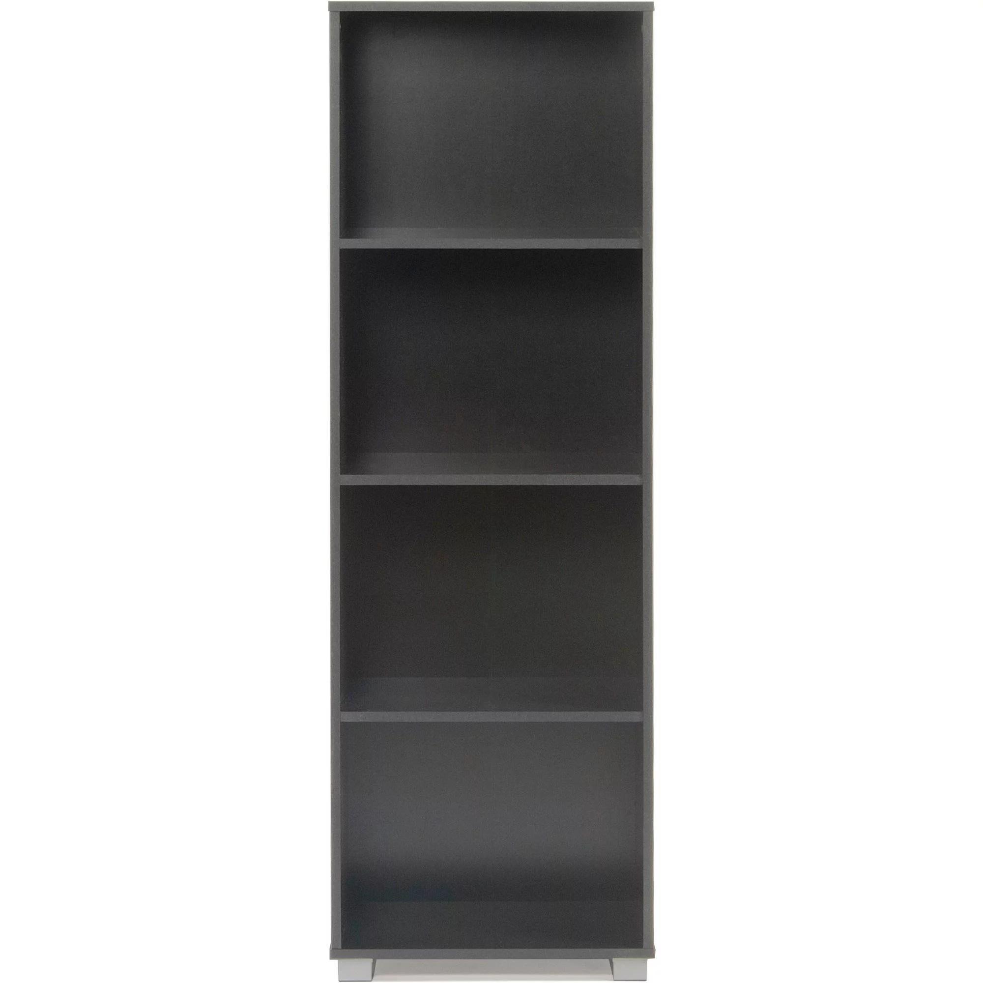 Suntime Outdoor Living Sorento Black Narrow 4 Shelf Bookcase