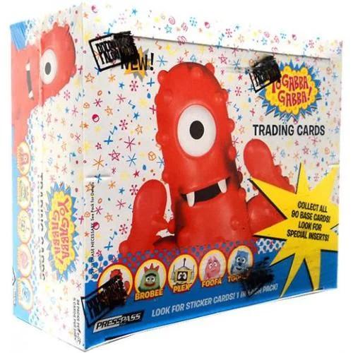 Yo Gabba Gabba Trading Cards 24 Packs Yogabba Walmart