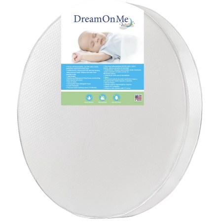 Dream On Me 4 Thick Round Crib Mattress