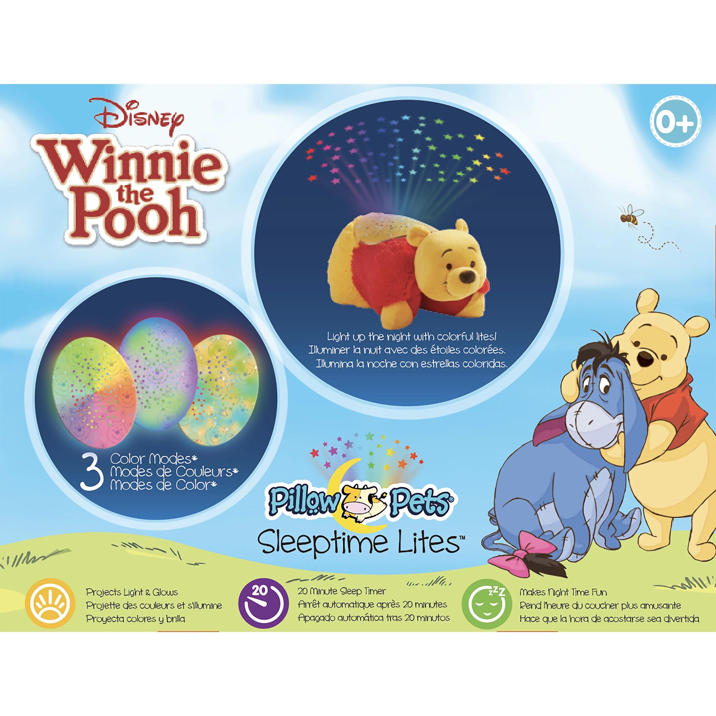 pillow pets sleeptime lites winnie the pooh plush night light
