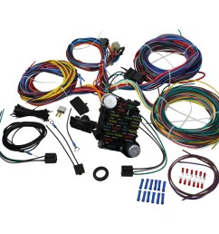 brand new 21 circuit wiring harness kit for all hot rods classics 4x4 custom project oem fit wh1001 [ 1600 x 1600 Pixel ]