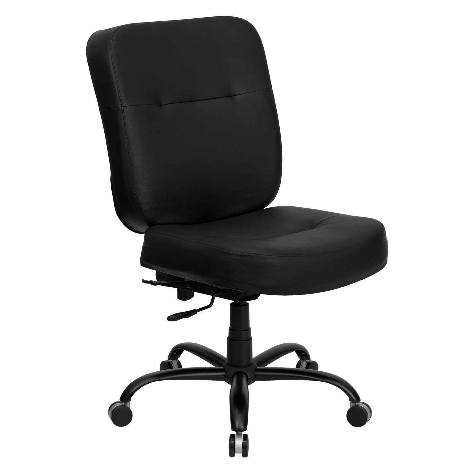 hercules big and tall drafting chair aeron singapore leather office task black