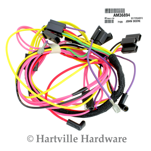 small resolution of wiring harnes john deere
