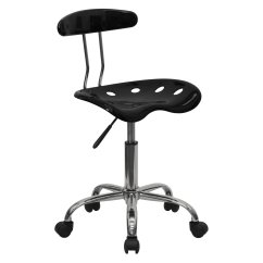 Office Chair Vs Stool Desk No Wheels Ikea Computer Task With Tractor Seat Multiple Colors Walmart Com