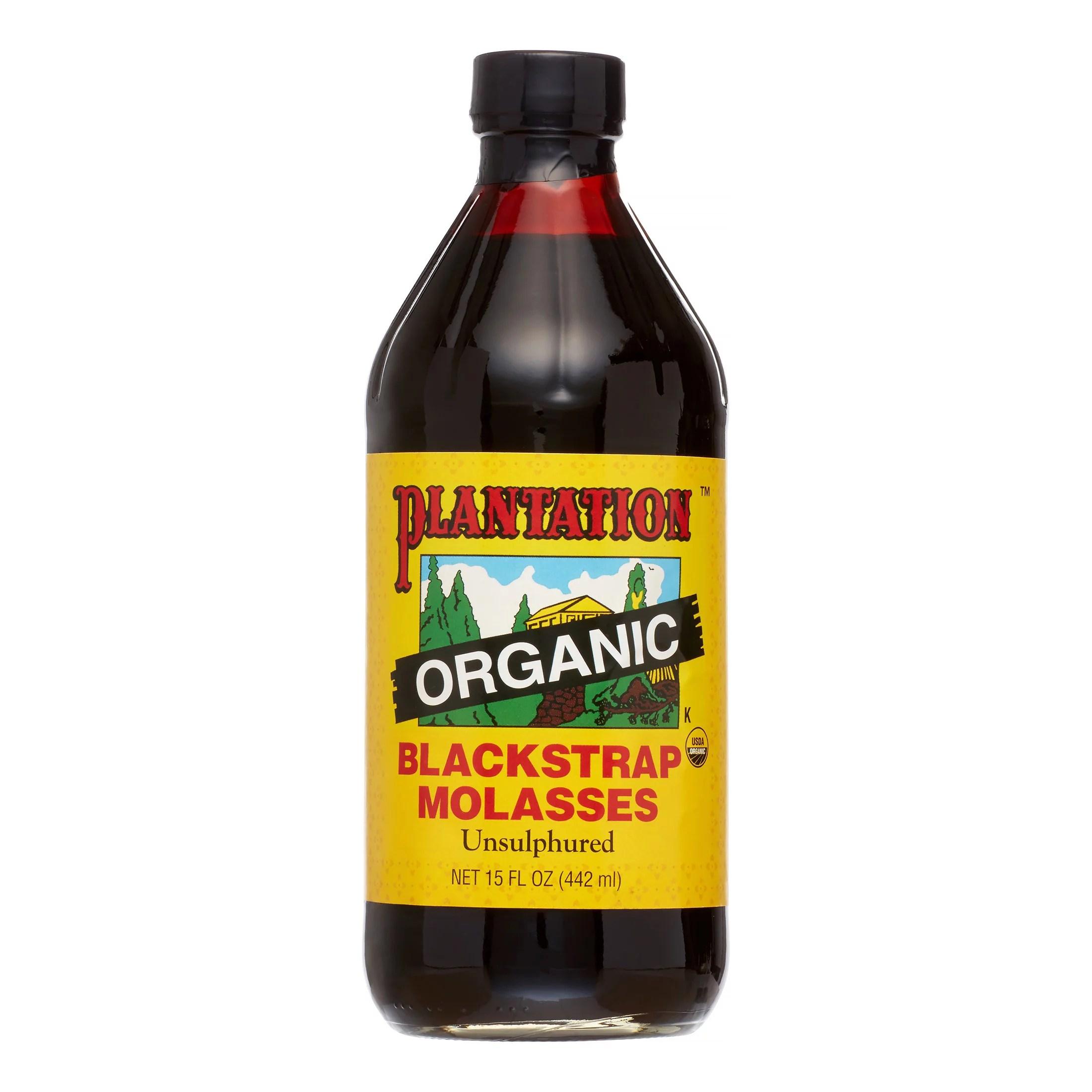 Plantation Organic Blackstrap Molasses 15 Fl Oz - Walmart.com
