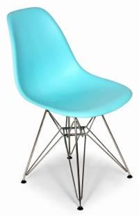 The Mid-Century Eiffel Dining Chair - Ocean Blue - Walmart.com
