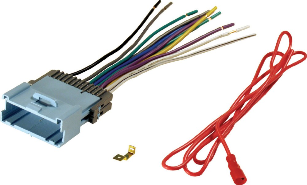 medium resolution of replacement car stereo wiring harnes