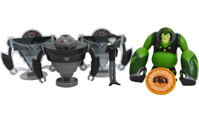 Wicked Cool Toys Wild Kratts 4 Pack Creature Power Action