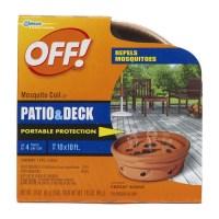 Off Patio & Deck Mosquito Repellent Coil - Walmart.com