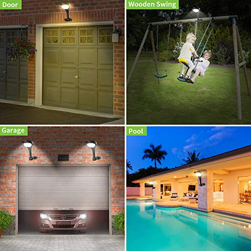 outdoor solar pathway lights landscape path light with 2 modes cool white warm white waterproof led spot lighting solar powered ground lights for