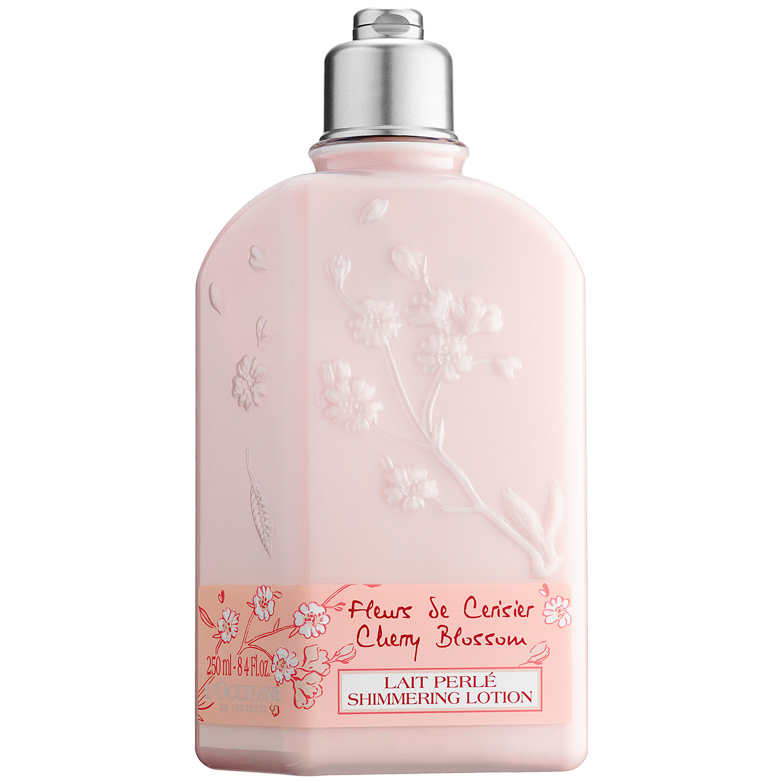 ( Value) L'Occitane Cherry Blossom Body Lotion, 8.4 Oz