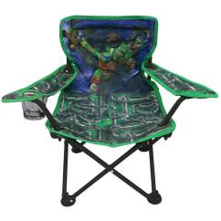 Ninja Turtles Chair Stool Bar Nickelodeon Teenage Mutant Fold N Go Walmart Com